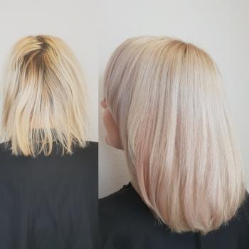 Vorher - Nachher Blondspezialist