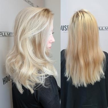 Balayage , Blond